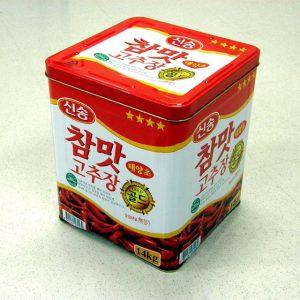 新松(シンソン)コチュジャン(唐辛子みそ) 14kg缶